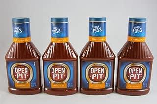 Open Pit Original BBQ Sauce, 18-Ounce (Pack of 4)