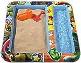 Character - Tappetino gonfiabile per bambini, motivo: Paw Patrol, con spazi per acqua e sabbia