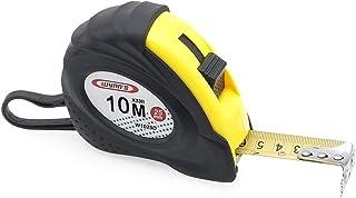 Jimjis メジャー コンベックス スケール メジャー ステンレス 巻尺 インチ センチ 目盛 巻き尺 ロック付き 計測 10m/3m (10m)