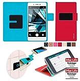 Hülle für Oppo Mirror 5s Tasche Cover Hülle Bumper   Rot   Testsieger