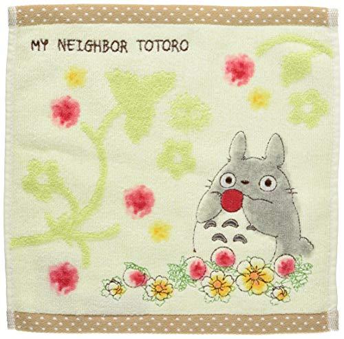 Marushin Mini toalla de algodón 25×25cm, Studio Ghibli My Neighbor Totoro, Frutas, Bordado, de Japón 1005034500