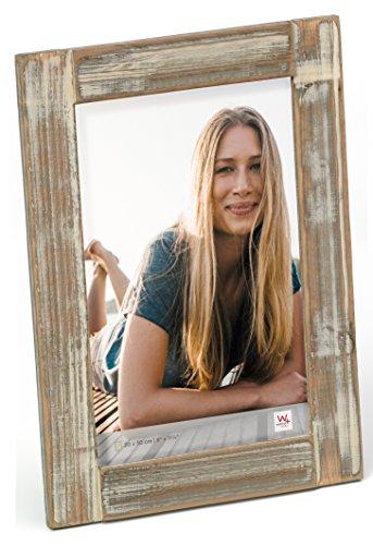 Walther QL030P Longford Cornice portafoto 20x30 cm colore: Marrone, wood, legno