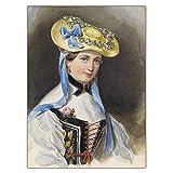 XNHXPH Winterhalter Prinzessin Liechtenstein im Kostüm