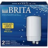 Brita On Tap Water Filtration System Replacement Filters For Faucets - white - 2 Count
