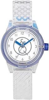 Q&Q Boys RP01J008Y Year-Round Analog Solar Powered White Watch