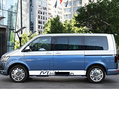 Wongzt Pegatinas de Estilo de Coche, para Volkswagen VW Multivan T4 T5...