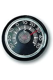 ZUII TECH 1177909 Termometro e Sensori Temperatura Esterno Interno Multifunzione Orologio Data per Auto