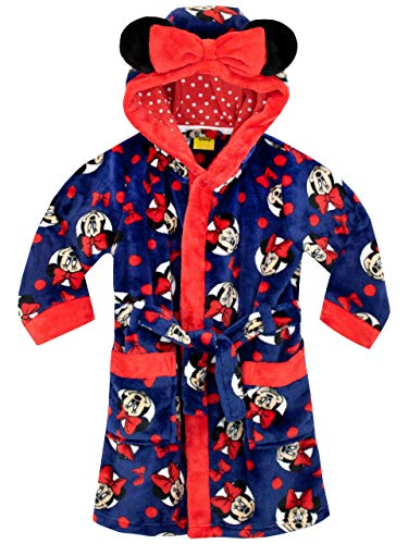Disney Girls Minnie Mouse Robe Blue Size 2T