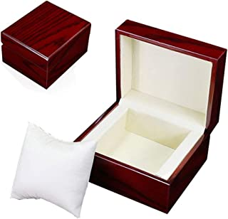 Oak-Pine Premium Glossy Wooden Wrist Watch/Bangle Pillow Box Great Birthday Gift Party Gift