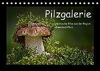 Pilzgalerie - Heimische Pilze aus der Region Rheinland-Pfalz (Tischkalender 2022 DIN A5 quer): 13 beeindruckende Pilzaufnahmen (Monatskalender, 14 Seiten )