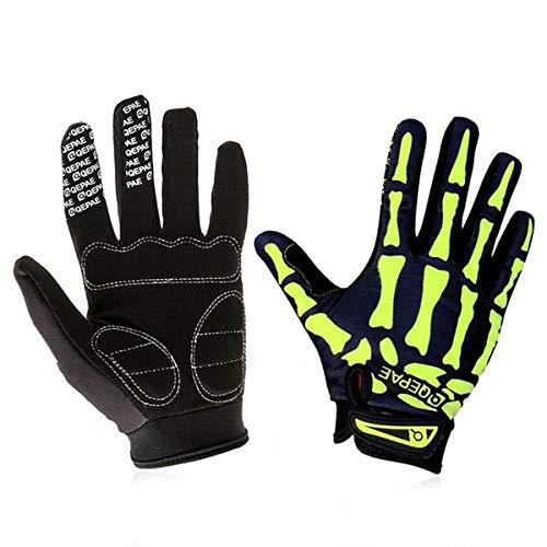 Bruce Dillon Full Finger Motorcycle Winter Gloves Screen Touch motocrossskiingclimbingbikingriding Sport Motocross Gloves - O-KL-GN X XL X