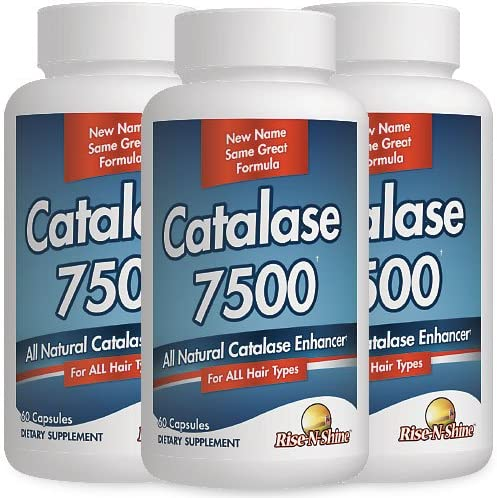 Catalase 7500 Enzyme Hair Manufacturer regenerated product Supplement wit Month Supply Tucson Mall 3
