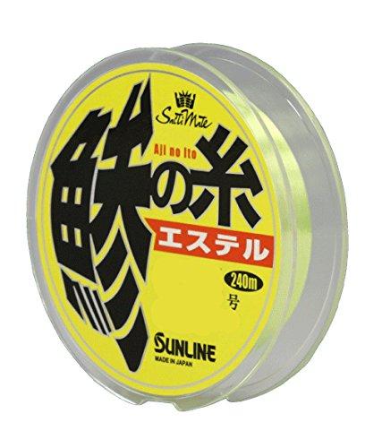 サンライン(SUNLINE)エステルラインソルティメイト鯵の糸240m0.3号/1.5lb