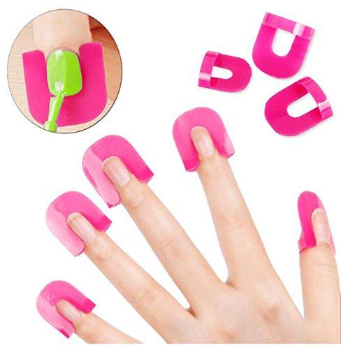 Nagellack-Schutz-Halter, Maniküre, Finger-Nagelkunst-Design, Nagelkunst-Design, Nagelschutz, UV-Gelnägel