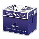 copy star 80gr carta a4 per fotocopiatrici e stampanti 80gr/mq, formato a4, confezione da 5 risme