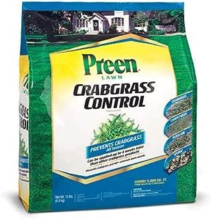 Preen 100512777 396703 2464151 Crabgrass Control, 5000 sq. ft, Brown/A