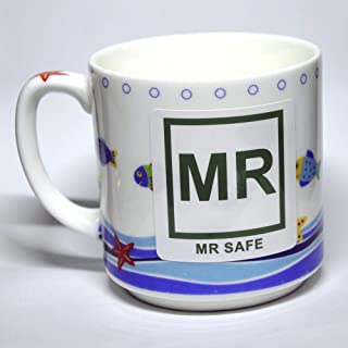 10-Pack MRI Safe Label MR Safe Vinyl Sticker for Radiology 2 x 2 inch Waterproof Disinfectable IEC 62570:2014 / ASTM F2503 Compliant