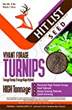 Hit List Seed Vivant Hybrid Turnip Brassica Turnip/Rape Hybrid Deer Food Plot Seed - 1/2 Acre (3 lbs)