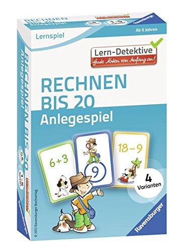 Ravensburger 41493 - Rechnen bis 20 Anlegespiel ab 6 Jahren, Lern und Experimentierspielzeug
