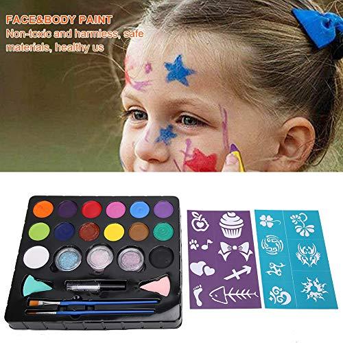 Pintura facial Ingredientes seguros Maquillaje facial Pigmento Disfraz de cumpleaos para nios para juegos de rol Maquillaje de Halloween Eventos corporativos