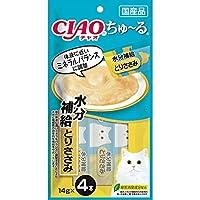 【セット販売】チャオ ちゅ~る 水分補給 とりささみ (14g×4本)×6コ [ちゅーる]