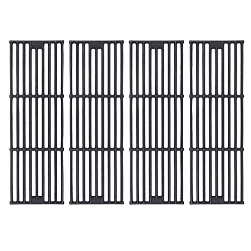 GGC Grill Grates Replacement for Chargriller 3001,5050,3008,3030,3725,4000,5252,King Griller 3008, 5252 and Others, Set of 4-Pack Dumb light cast iron Cooking Grid Grates(19 3/4' x 6 3/4' Each)