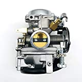 xiaoxioaguo Carburatore Assemblea del carburatore 250 Compatibile per Yamaha Virago XV250 1995-2004 Route 66 1988-1990 Parti Moto Sostituzione di Parti di Alta qualità