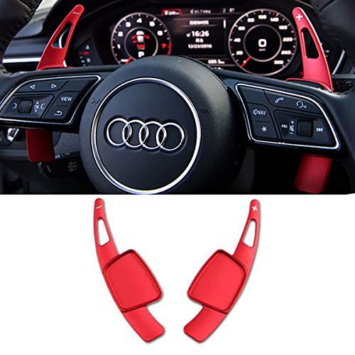 TTCR-II Steering Wheel Paddle Shifter Extensions For Audi A4 2017-2019 A3 S3 2017-2020 A5 S4 S5 2018-2019 Q5 SQ5 2018-2021 Q7 2017-2021 Q8 2019-2021 SQ7 SQ8 2020-2021 TT 2016-2021 TTS 2016-2020