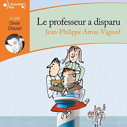 Le professeur a disparu audiobook cover art