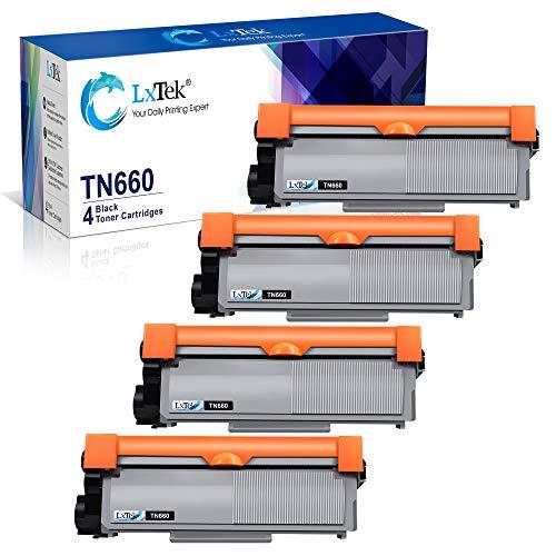 LxTek - Cartucho de tóner compatible para Brother TN660 TN630 TN-660 TN-630 de alto rendimiento...