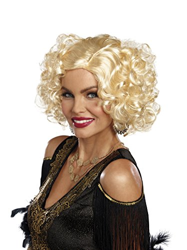 Dreamgirl Women's Retro Costume Wig, Blonde, One Size - http://coolthings.us