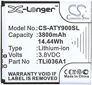 163467-0001 MX7 Ersetzt 159904-0001 LXE CS-LMX700BX Akku 3400mAh Kompatibel mit