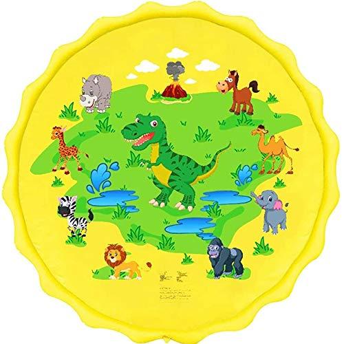 Colchoneta para niños Sprinkle and Splash, Splash Pad de riego for niños y Piscina de niño for el Aprendizaje Splash Alfombra de Juego Jardín de Agua de Juguete de los niños