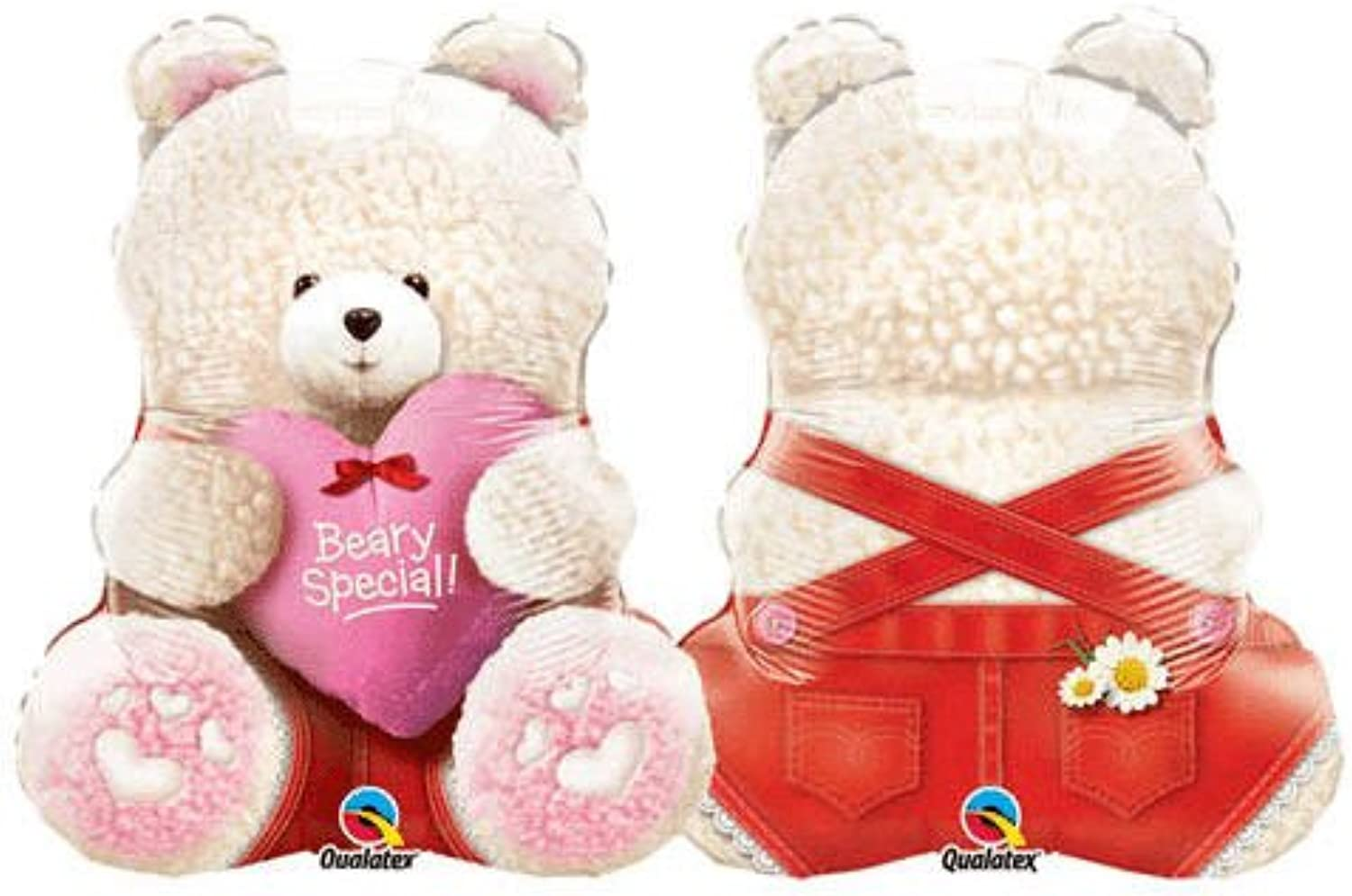 24 Inch Beary Special Girl Bear Supershape Balloons