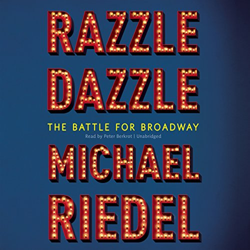Razzle Dazzle audiobook cover art