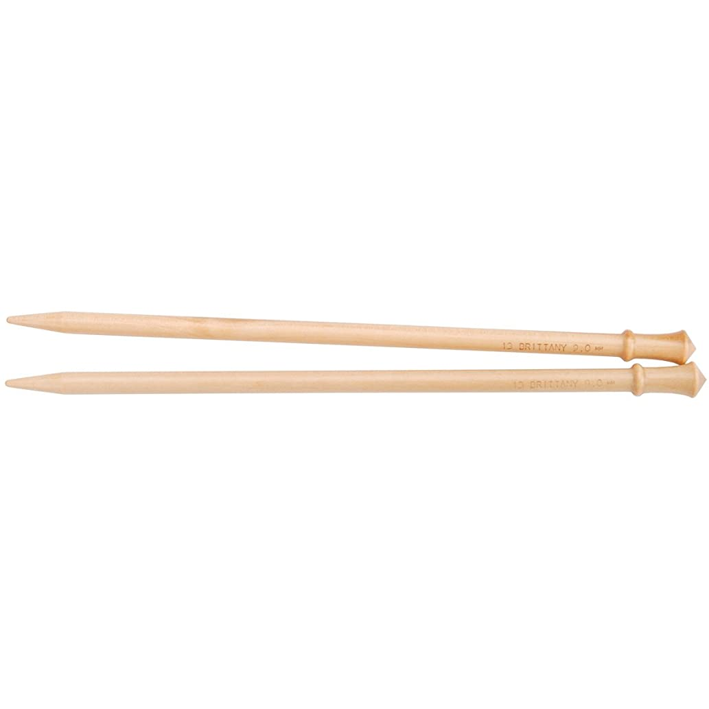 Brittany SP1010.5 Single Point Knitting Needles 10