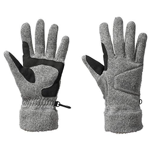Jack Wolfskin Caribou Glove Men Light Grey