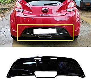 Automotiveapple Sell, Hyundai Motors OEM Genuine 866122V101 Rear Bumper Guards Diffuser Black 1-pc for 2011~2016 Hyundai Veloster Only