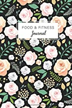 Food and Fitness Journal: Flower Watercolor Cover, Personal Food Journal and Activity Tracker 60 Days Eat Drink Exercise Fitness Diary with Daily Gratitude (60 DAYS Food Journal and Fitness Diary)