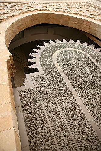 Puzzle 1000 Teile Puzzel Für Erwachsene Kind Puzzles-Marokkanische Architektur-Aus Holz Puzzle Panorama Art DIY Leisure Game Fun Geschenk Spielzeug Geeignete Freunde Familie