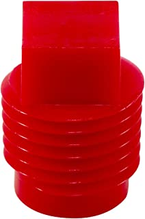plastic threaded plugs for npt pipe fittings