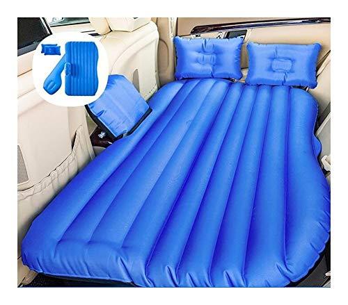 Lalawo Auto-luchtmatras, luchtkussen voor camping, reizen, opblaasbaar slaapkussen, voor de achterbank voor auto, extra comfort