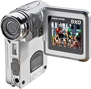 DXG DXG-506V 5.1 MegaPixel Multi-Functional Camera with MPEG4 Technology (Silver)