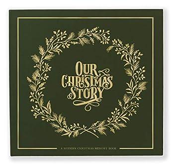 Our Christmas Story  A Modern Christmas Memory Book