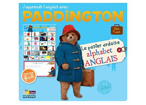 Paddington - Le Poster ardoise Alphabet anglais