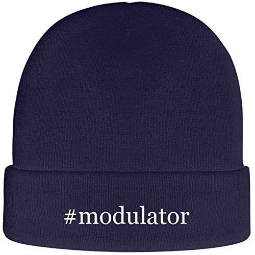 One Legging it Around #Modulator - Soft Hashtag Adult Beanie Cap, Navy