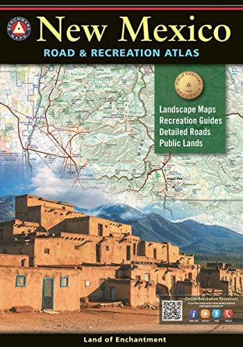 New Mexico Road Recreation Atlas Benchmark Recreation Atlases product image