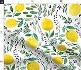 Spoonflower Stoff – Citrus Home Decor Küche Lavendel