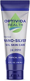 Nano-Silver Topical Gel, Fragrance-Free, 4 Ounces