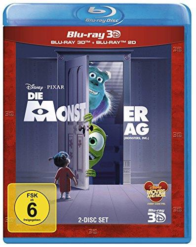 Die Monster AG (+ Blu-ray 2D) [Blu-ray 3D]